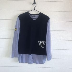 Zara Woman Layered Top Patches